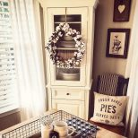 Cotton Wreath Farmhouse Dining Room Rustic Style Rustic Dining
