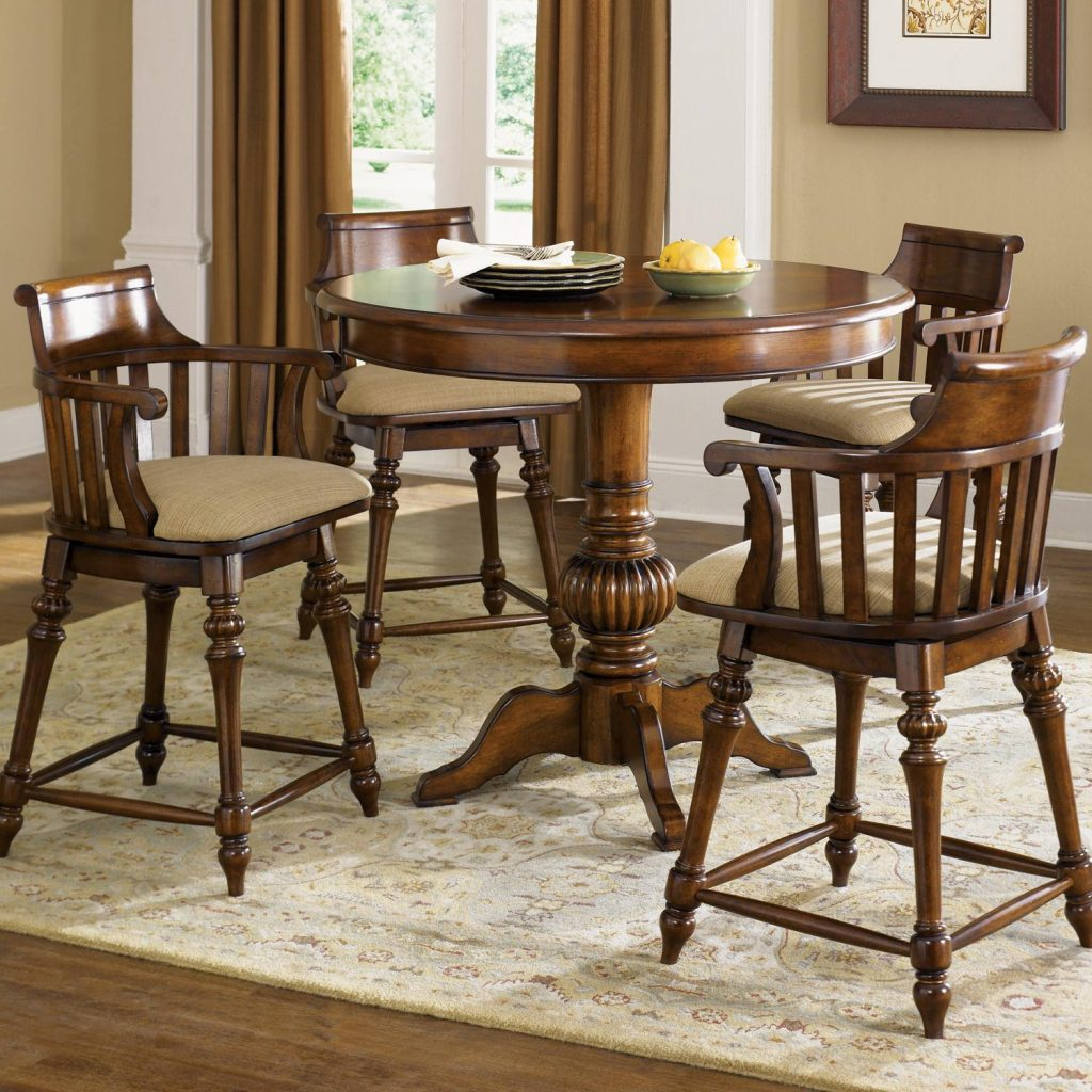 Counter Height Dining Table With Swivel Chairs Counter Height Dining