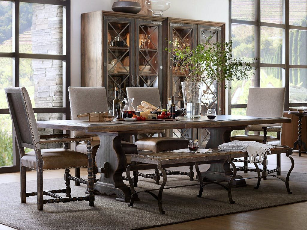 Country Rustic Dining Table The Chocolate Home Ideas Beautiful