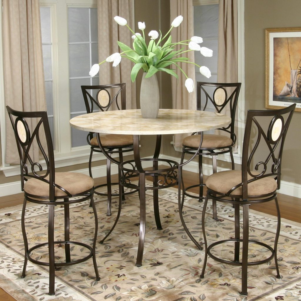 Cramco Inc Cramco Trading Company Nadia Five Piece Pub Table And