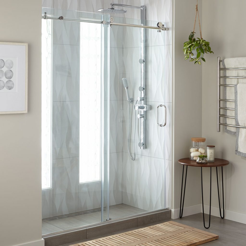 Curtains Over Sliding Doors Curtain Country Chic Shower Curtains