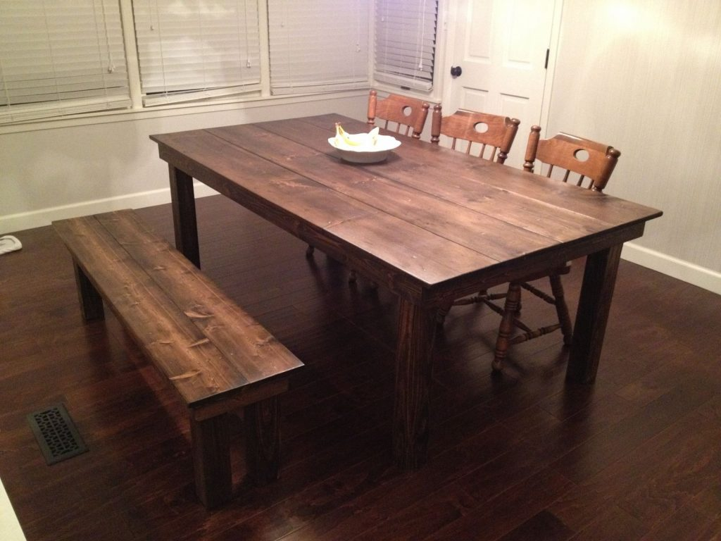 Custom Farmhouse Dining Table Gypsum Valley Made Custommade