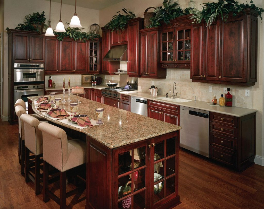 Dark Cabinets And Dark Floors Oceanside Cabinets Llc Palm Bay Fl