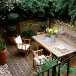 Deck Garden Design Ideas With Under Landscaping Plus Front Together