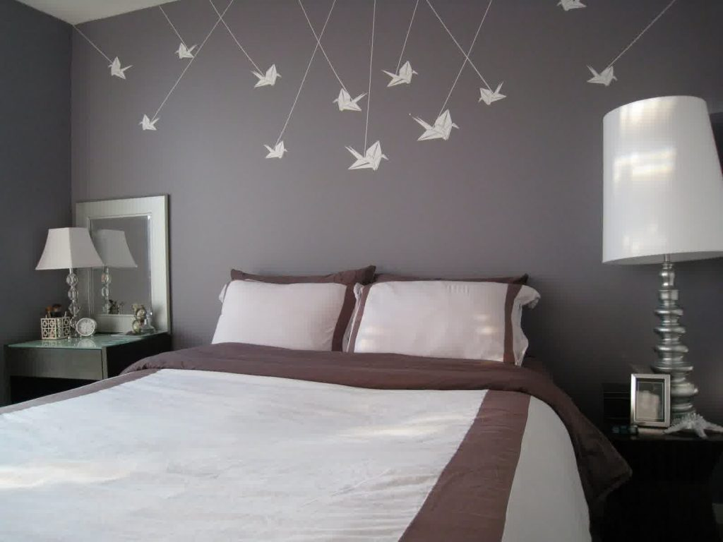 Decoration Wall Bed Without Headboard
