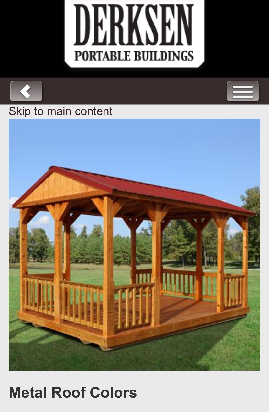 Derksen Gazebo For Tiny House The Tiny House Tiny House Gazebo