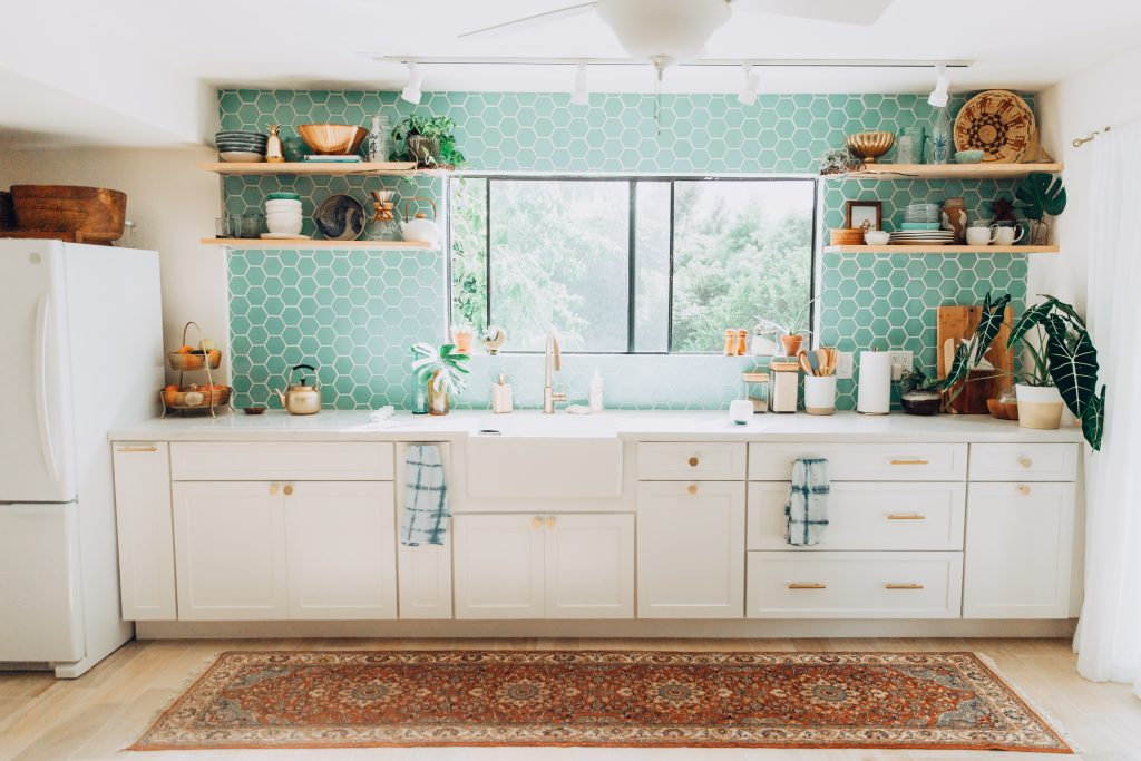 Design Trends Styling Your Kitchen With Open Shelving Fireclay Tile