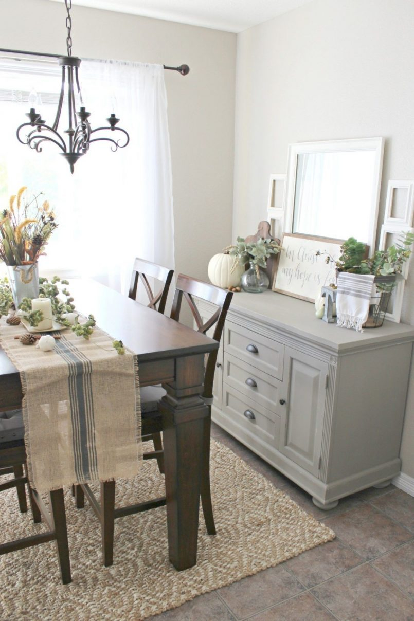Dining Hutches Buffet With Glass Doors Wooden Table And Chairs