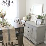 Painted Dining Room Buffet