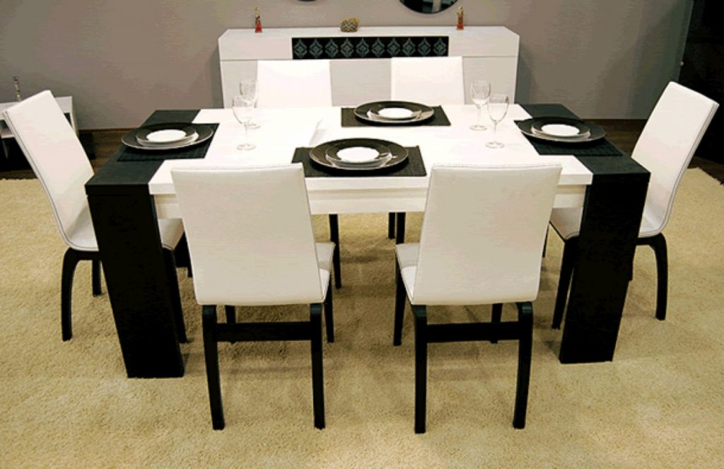 Dining Room Set Black And White Dining Room Set Kitchen Dining