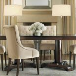 Dining Room Sets With Upholstered Chairs Restoration Leather Parsons