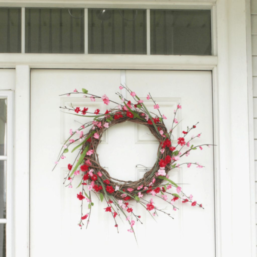 Diy Front Door Wreath In 3 Quick Steps And 10 Minutes At Home