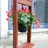 Diy Hanging Plant Stand The Weathered Fox