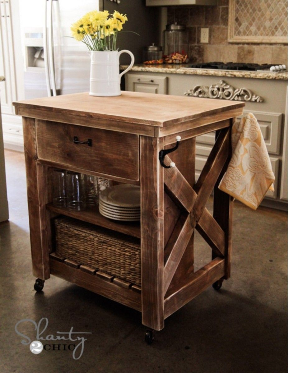 Diy Rustic Kitchen Island Pallet Kitchen Island Rustic Kitchen