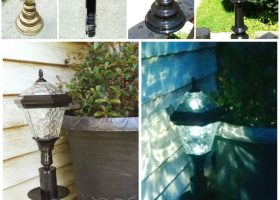 DIY Outdoor Lighting Solar Lights