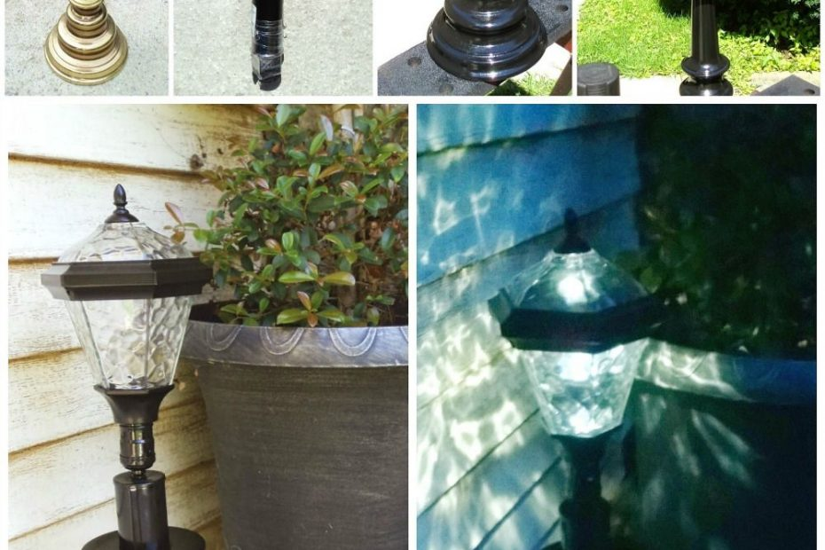 Diy Solar Lamp Just Use An Inexpensive Solar Stake Light And An Old