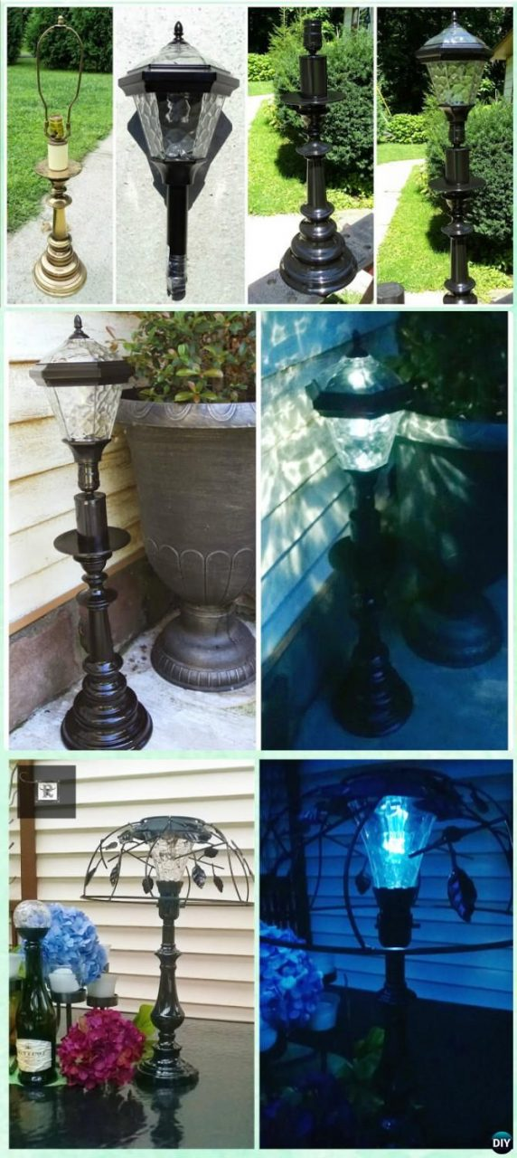 Diy Solar Light Craft Ideas For Home And Garden Lighting Awesome