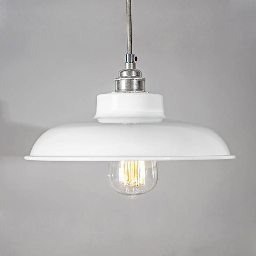 Dome Industrial Pendant Light Shade Bare Bones Lighting