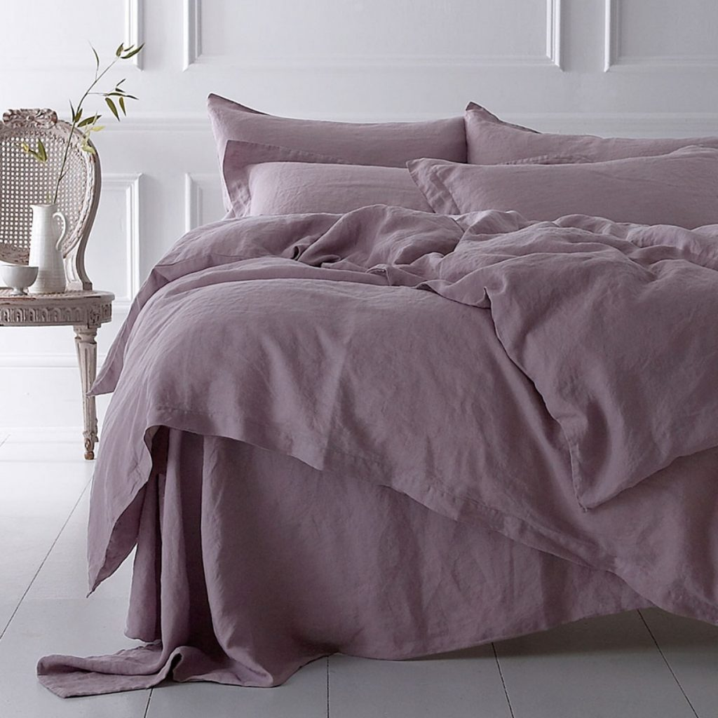 Dusky Heather Linen