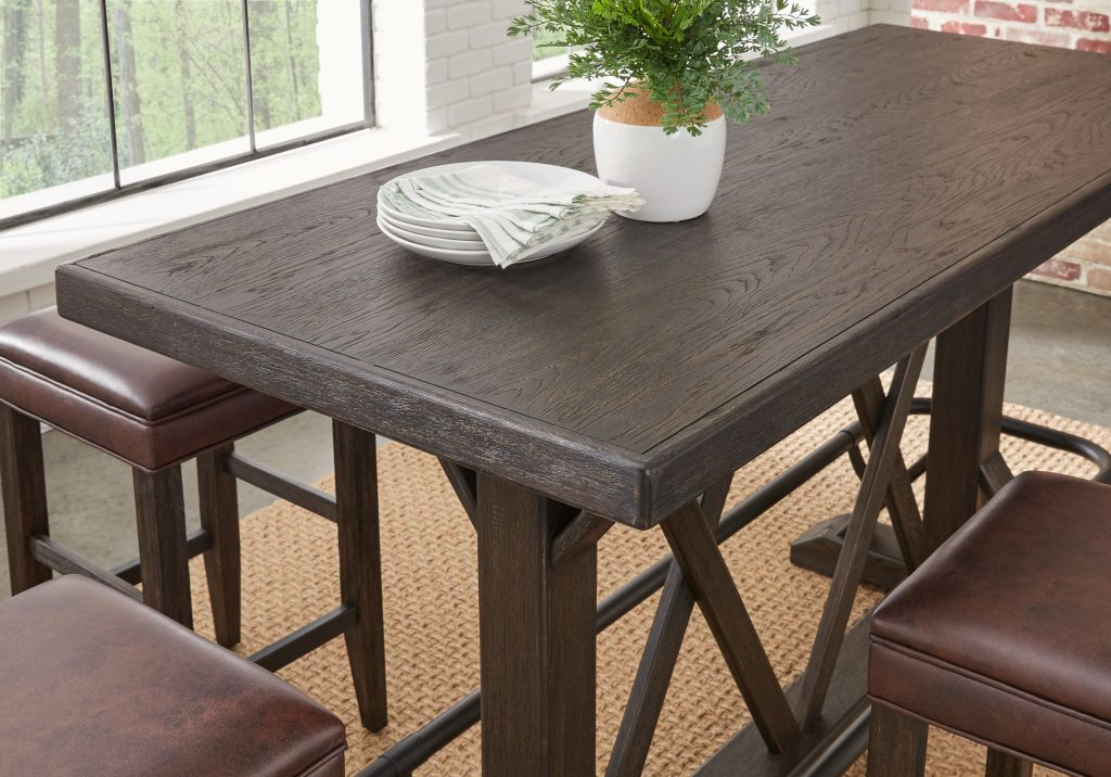 Eric Church Highway To Home Tap Room Brown Bar Height Dining Table