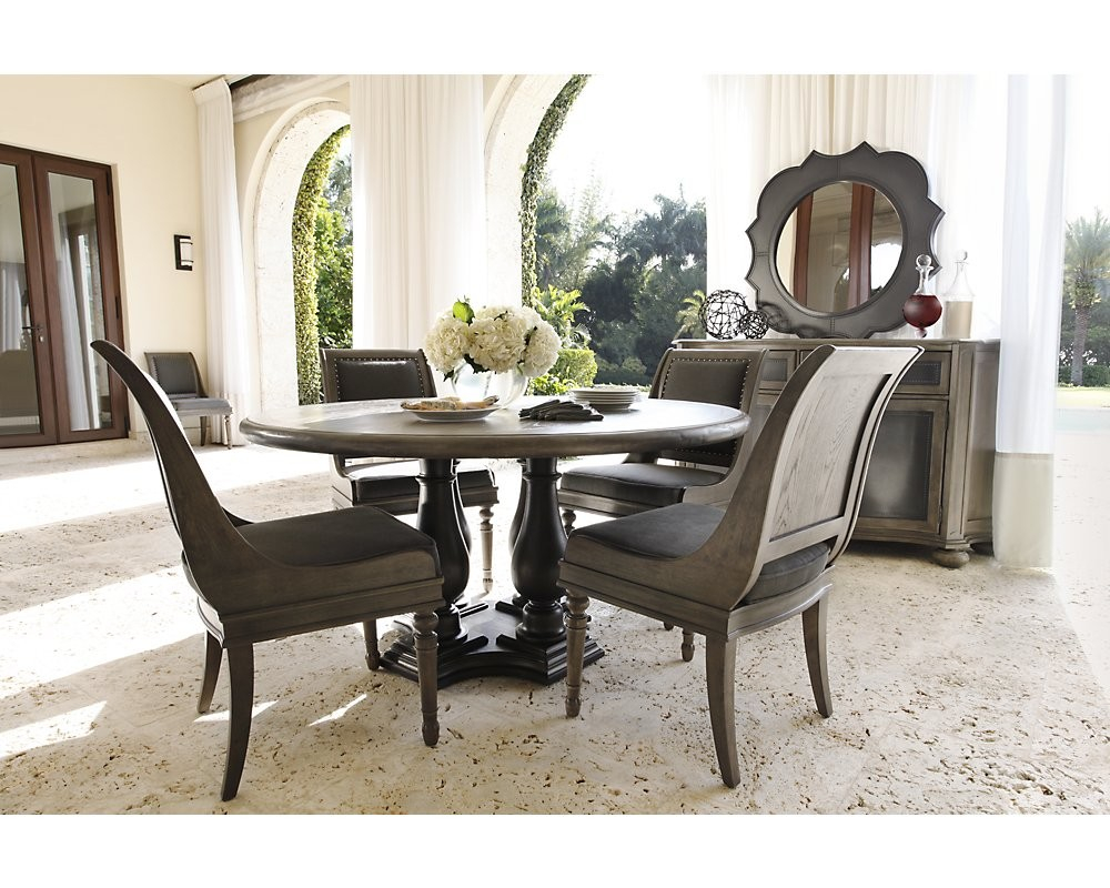 Excellent Idea Bernhardt Dining Room Set Mathwatson