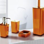 Favorite 21 Photos Burnt Orange Bathroom Orange Classicfi Reservices