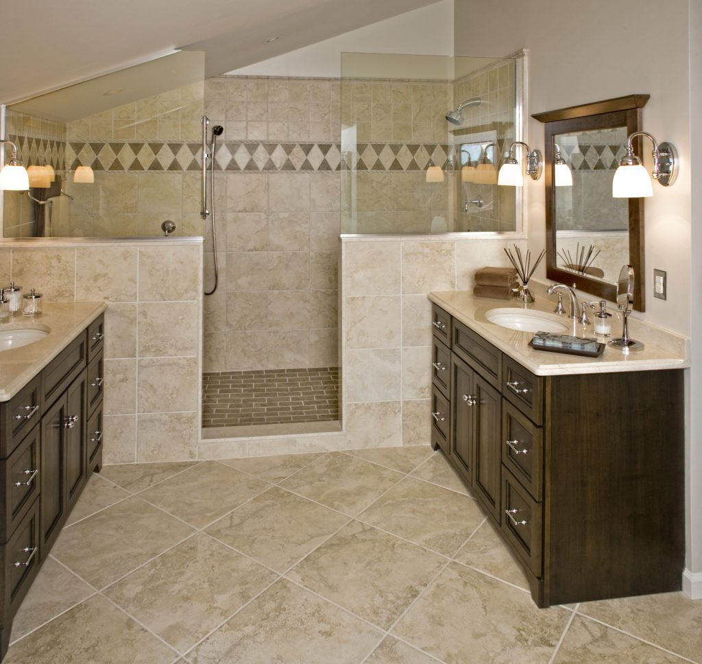 Favorite Remodel Traditional Bathroom Renovated With 16 Pictures