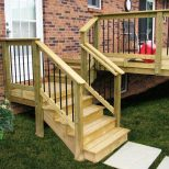 Finishing Touch To Rustic Deck Railing Ideas Home Inspirations