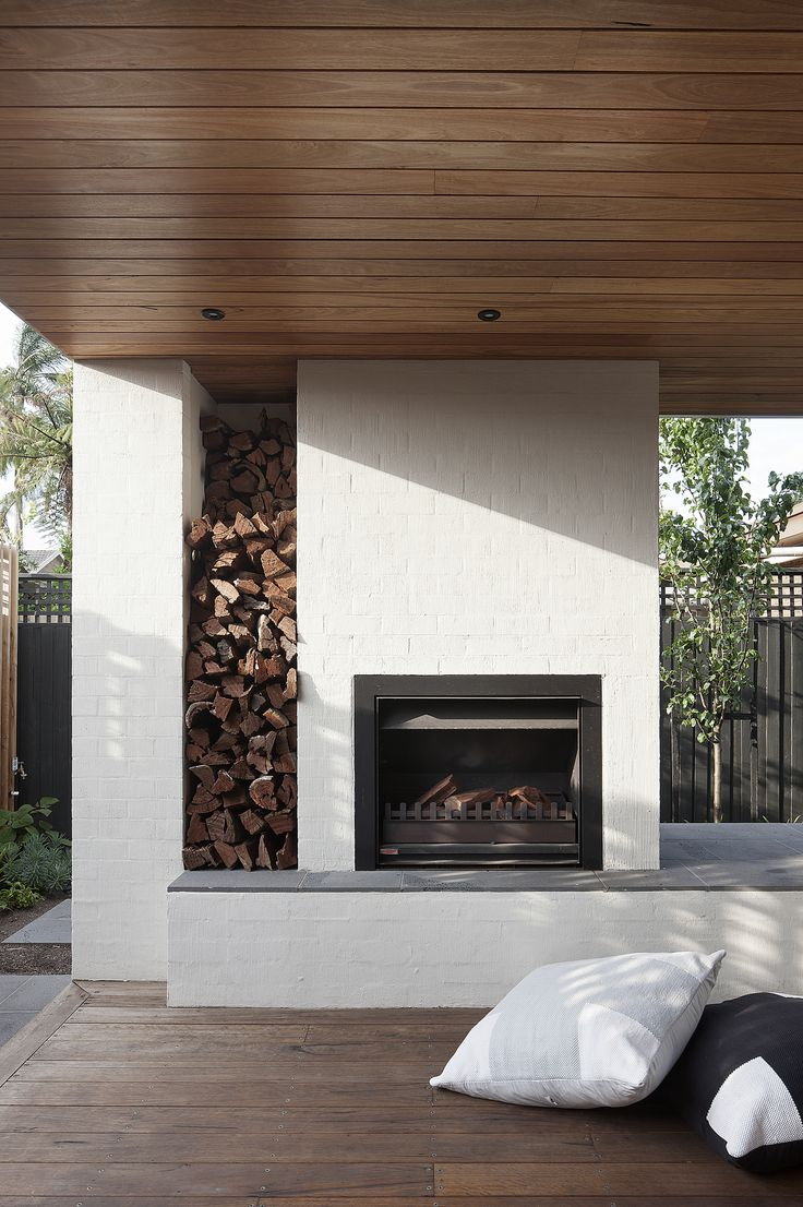 Fireplace Diy Prefab Outdoor Fireplace For Your Outdoor
