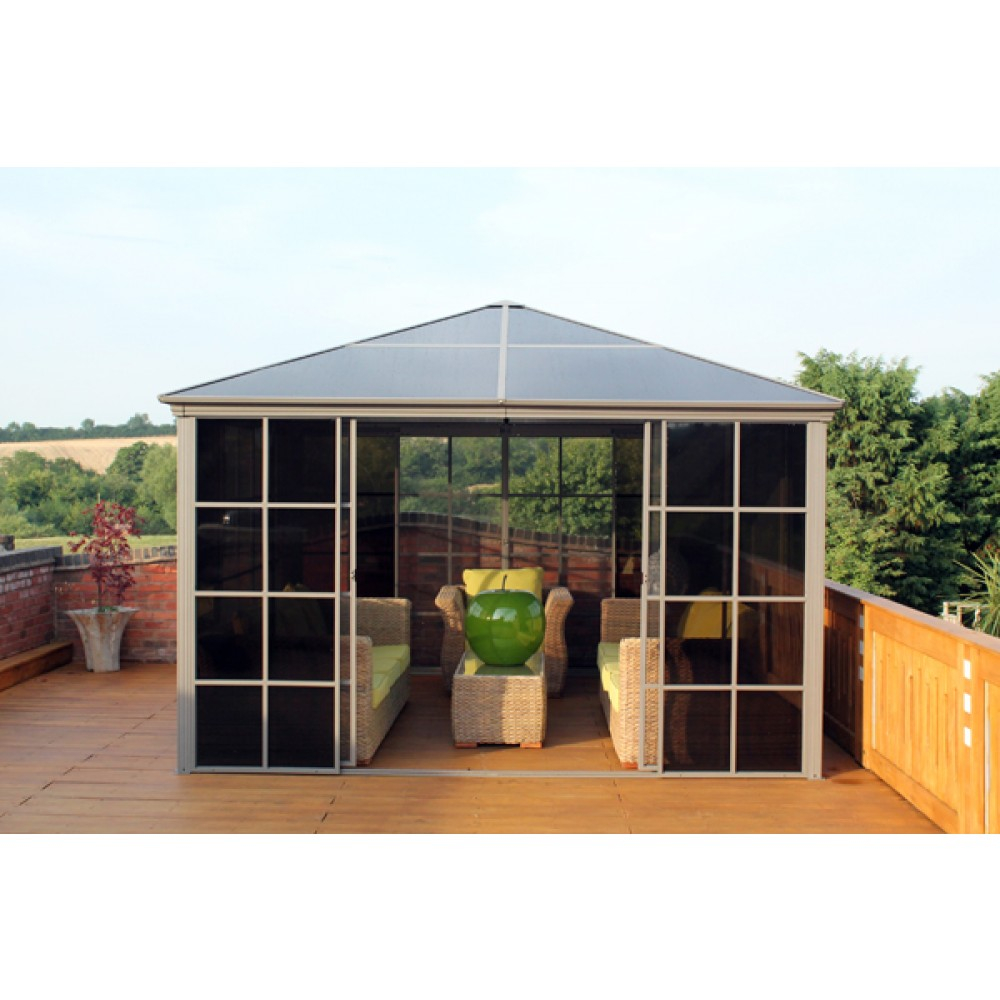 Four Seasons Metal Screen House Gazebo Metal Garden Building
