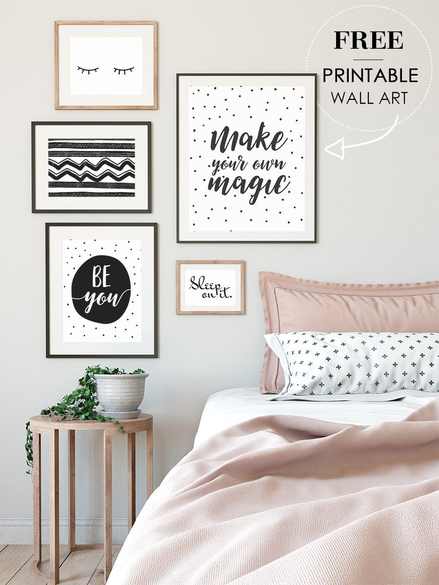 Free Wall Art Printables For Your Bedroom Cricut Crafts Ideas In