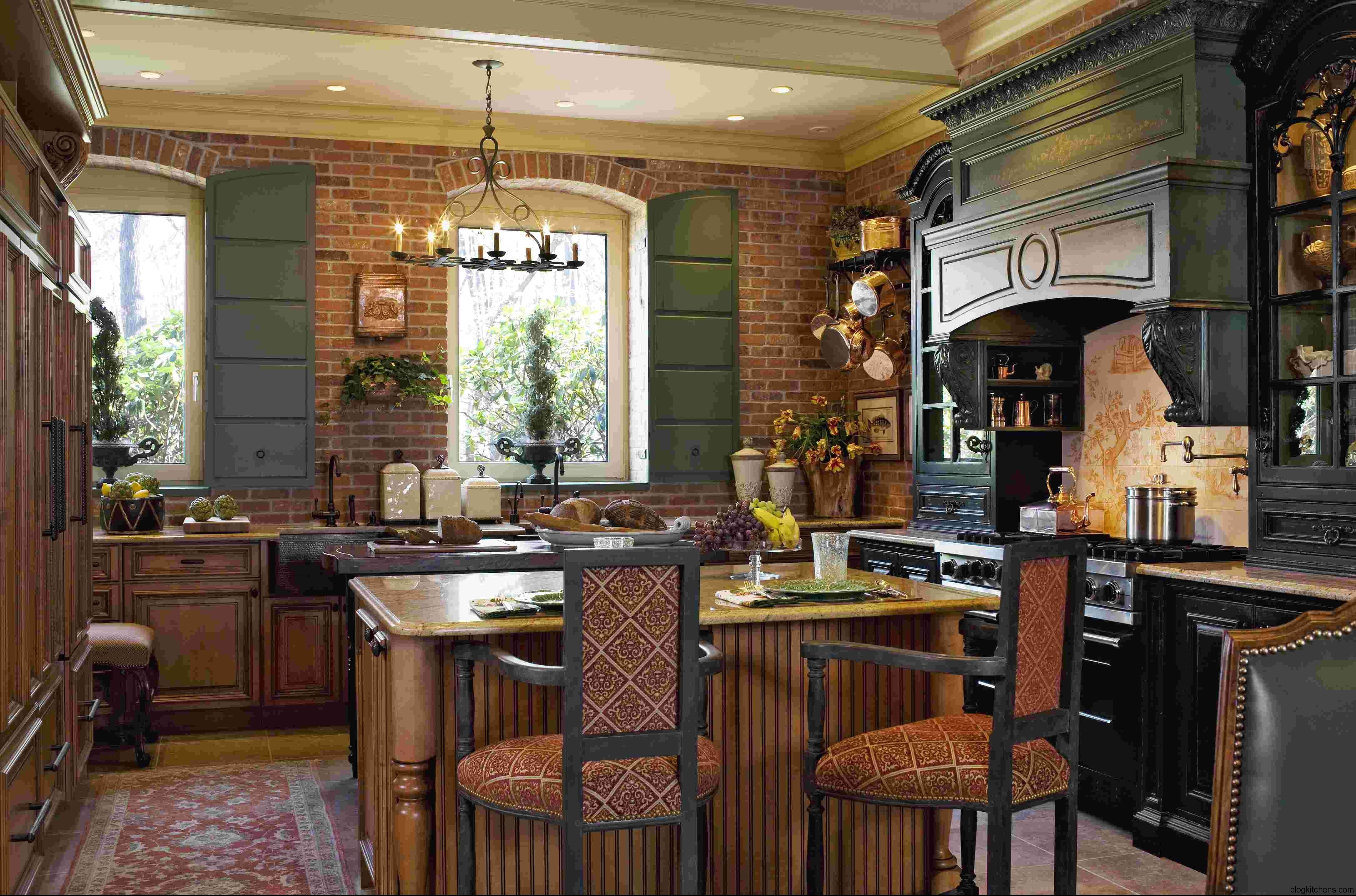 French Country Kitchen Design Ideas Kitchens Hgtv Rustic Small Layjao