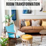 Fun And Bright Boho Living Room Decor Home Decor Living Room