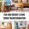 Fun Boho Living Room