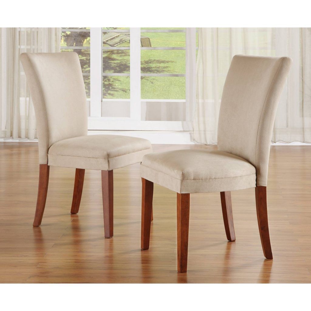 Furniture Best Fabric Parson Dining Chairs For Dining Faux Leather