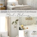 Girls Bedroom Decor A Simple And Sweet Makeover Grace In My Space