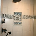 Shower Niche Tile Border Ideas