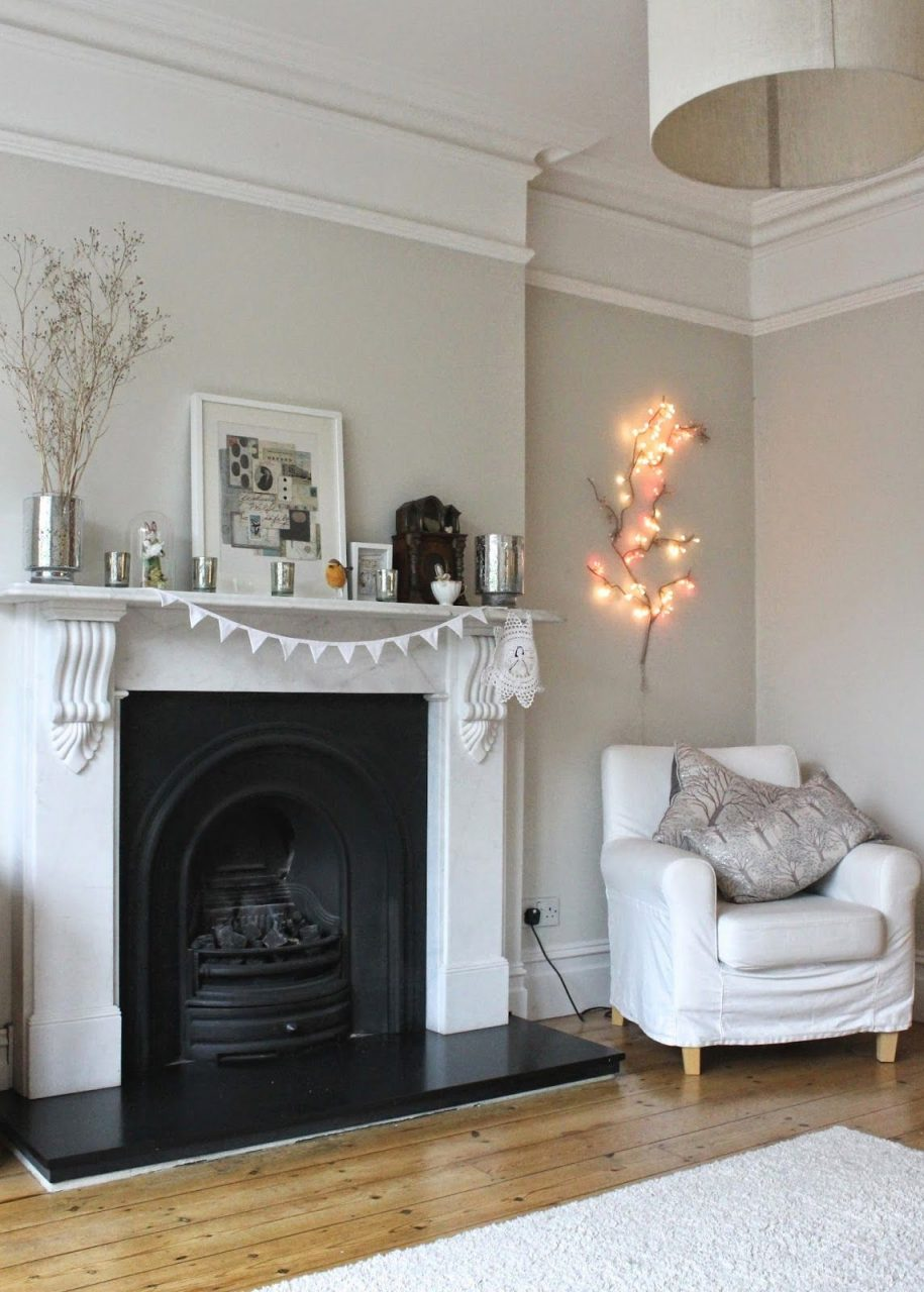 Gorgeous Modern Country Living Room Farrow And Ball Pavilion Gray