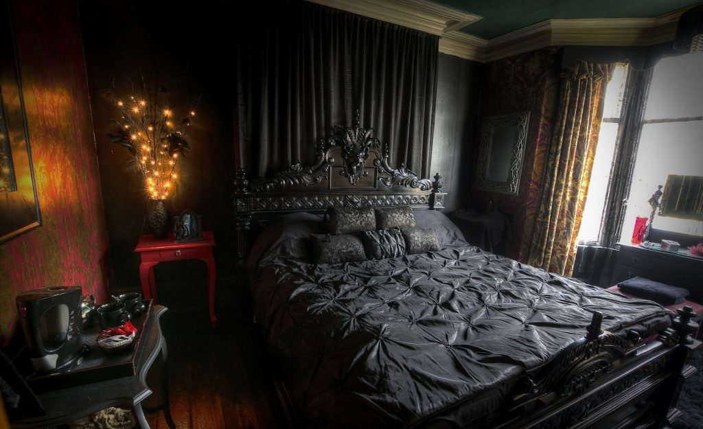 Goth Bedroom Decorating Ideas Gothic Bedroom Decorating Ideas