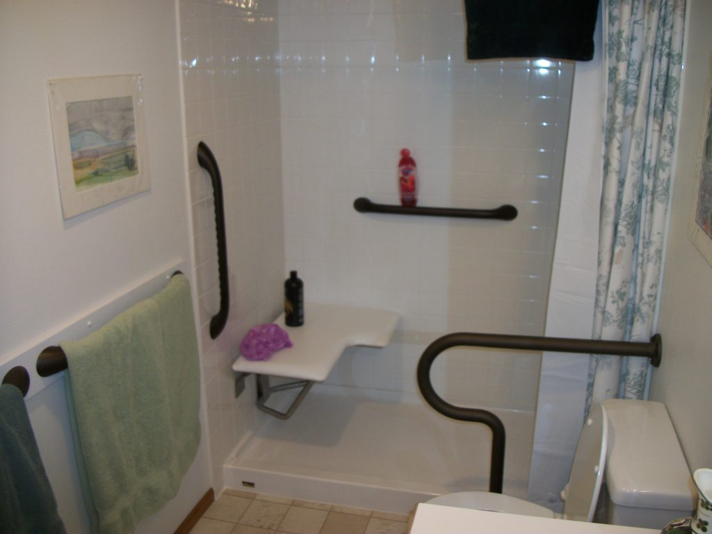 Grab Bars In All Accessible Bathing Facilities Ada Ba Shower Name
