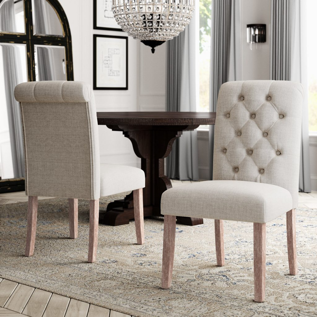 Greyleigh Malinda Upholstered Dining Chair Reviews Wayfair