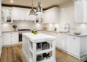 Hamptons Kitchen Design