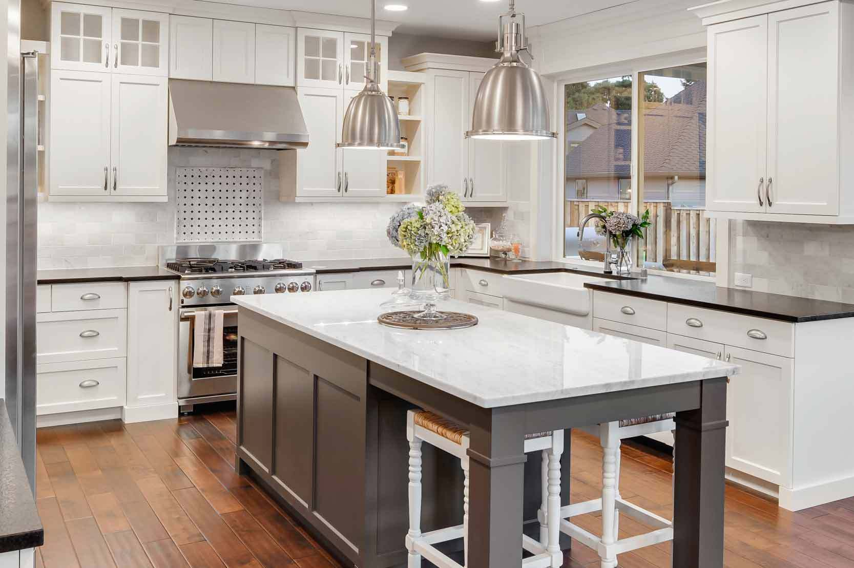 Hamptons Kitchens Rosemount White Country Kitchen Design Ideas Layjao