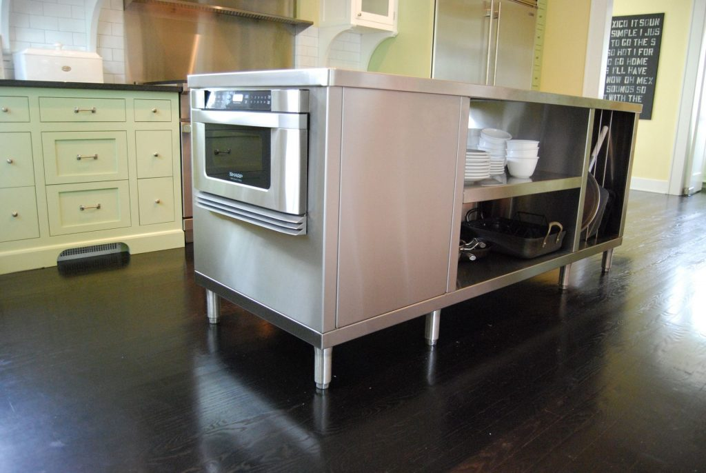 Hand Crafted Stainless Steel Kitchen Islands Custom Metal Home