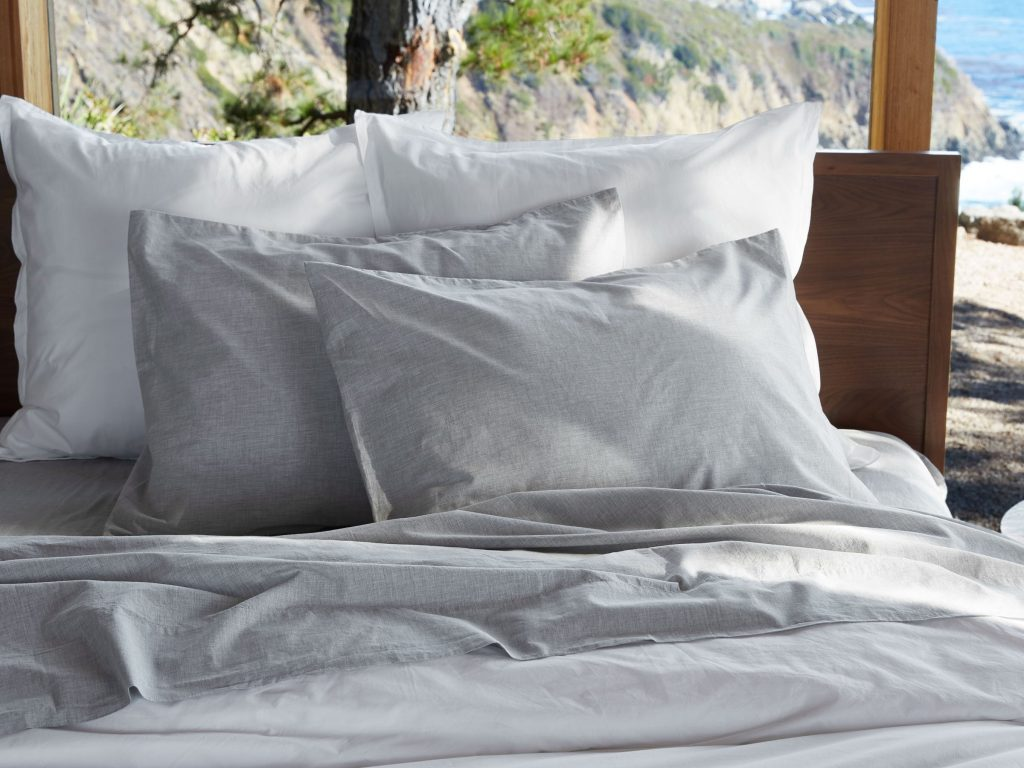Heathered Percale Sheet Set Parachute Home