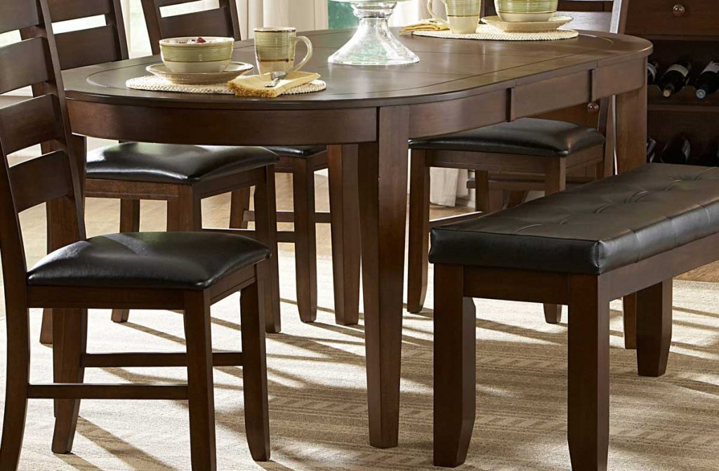 Homelegance Ameillia Oval Dining Table 586 76