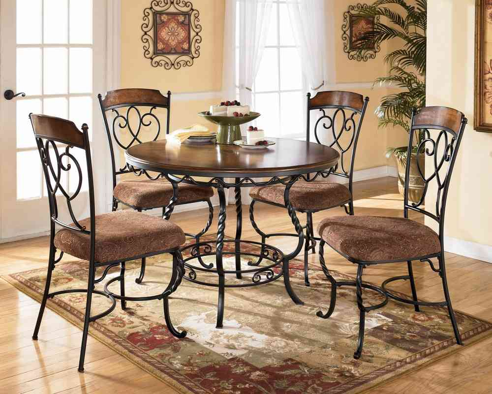 Homely Ideas Kitchen Table And Chairs Set Large Round Dining Table