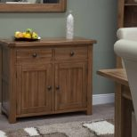 Homestyle Rustic Oak Small Sideboard Cupboard Cabinet Msl Furniture