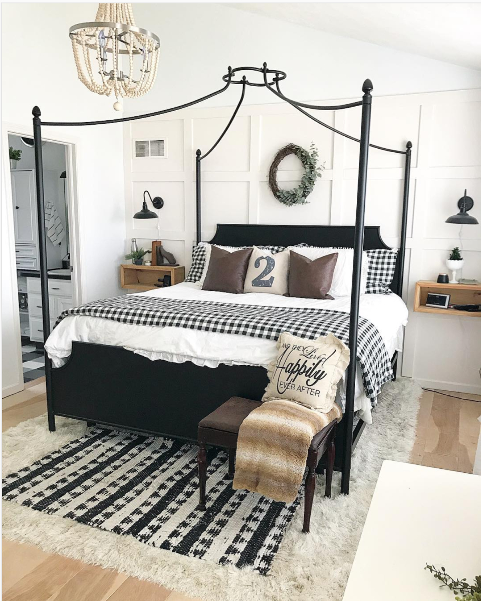 Hot Trend Buffalo Check Love This Look Bedroom Decor Home