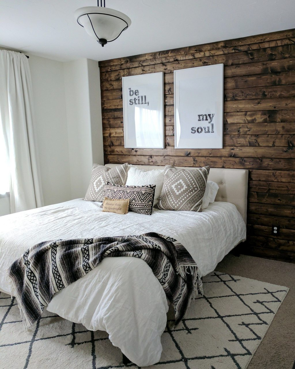 How To Build A Wood Accent Wall Diy Home Decor Ideas Bedroom